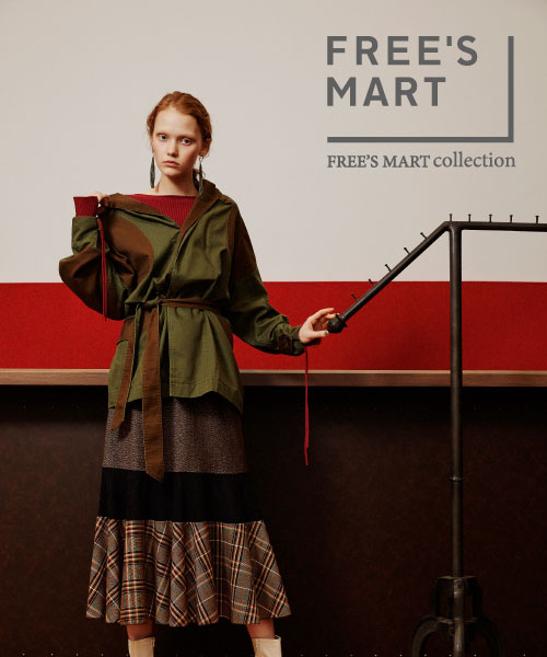 FREE'S MART COLLECTION発売。