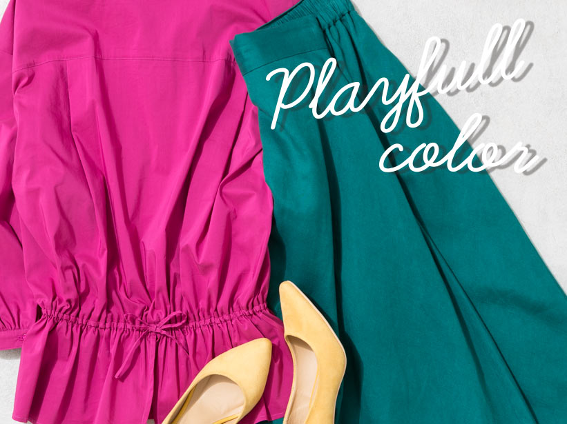 playfull color